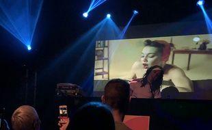 Mel C. des Spice Girls a enflammé le dance floor du Badaboum à Paris ce mercredi 4 avril 2018.