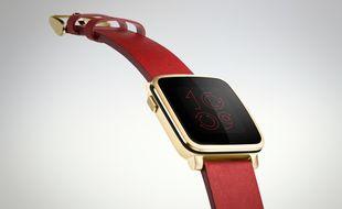 La montre Pebble Time Steel.