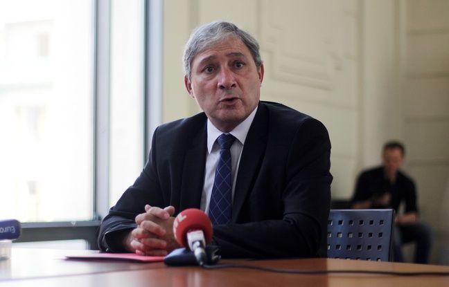 Le procureur de la République de Nice Jean-Michel Prêtre
