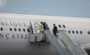 Emmanuel Macron utilise un A330 pour ses déplacements officiels.