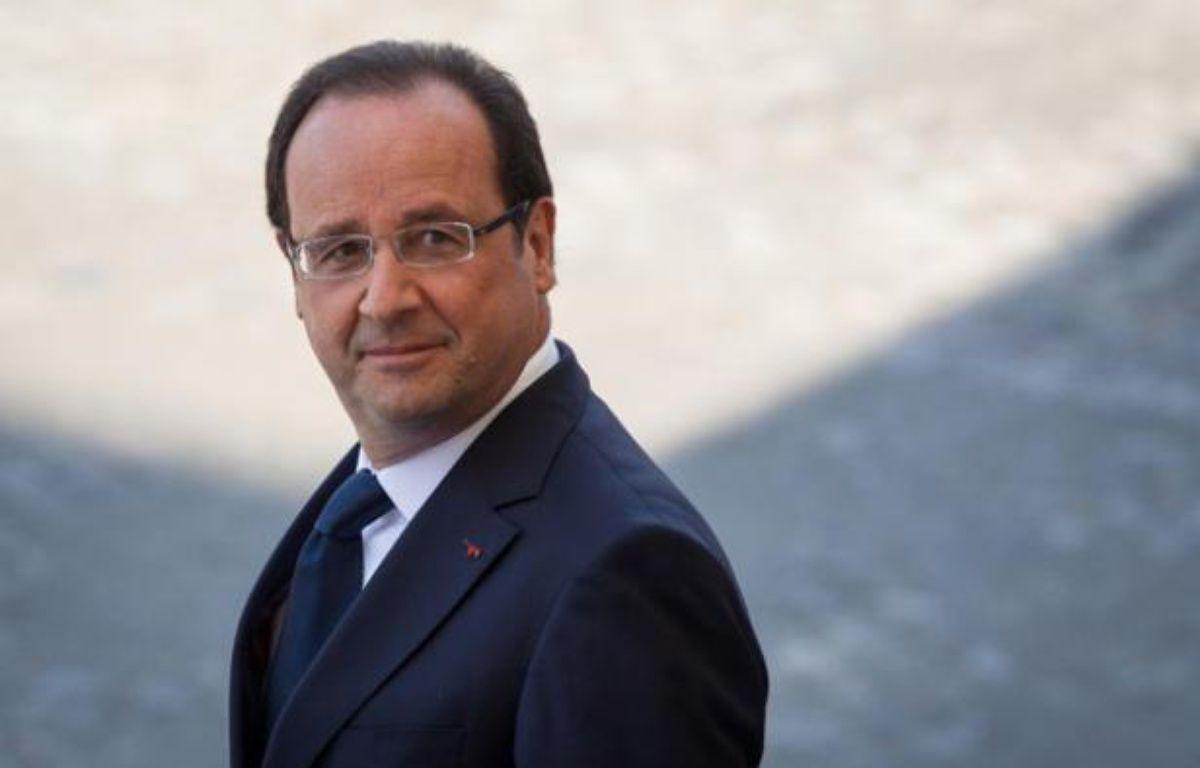 Le président de la République François Hollande, le 14 juillet 2013 à Paris. – MEIGNEUX/LCHAM/SIPA