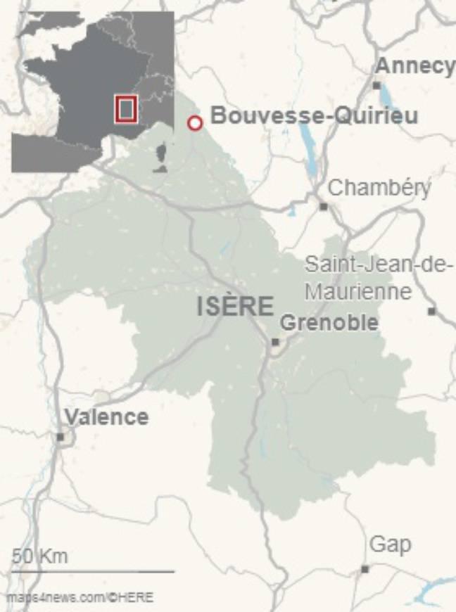 Sic chiens de chasse abattus par balle et enterrés dans un bois ont été retrouvés dans un bois dans le secteur de Bouvesse-Quirieu dans l'Isère.