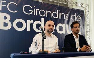 Gérard Lopez et Admar Lopes, les deux nouveaux hommes forts des Girondins.