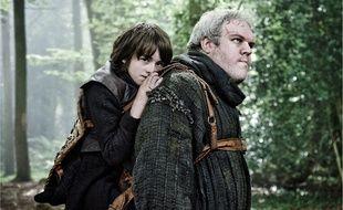 Les personnages de Bran Stark et Hodor dans la saison 2 de Game of Thrones