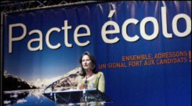 """Résultat de recherche d'images pour """"Pacte ecologique Segolene Royal candidats presidentielle"""""""