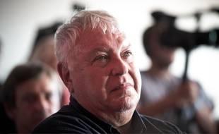 Gérard Filoche, lors de la deuxieme journée de La Fête de l'Humanité, le Samedi 11 Septembre 2016, sur la commune de la Courneuve.