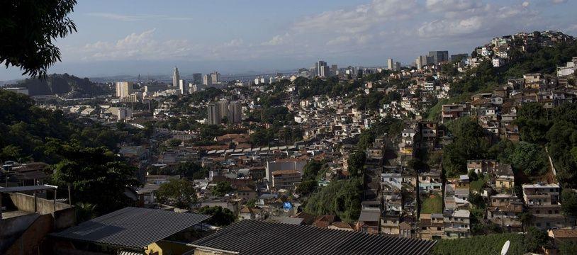 Une favelas à Rio