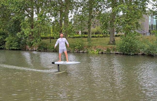 VIDÉO. Lille: On a testé le surf électrique sur le canal de la Deûle