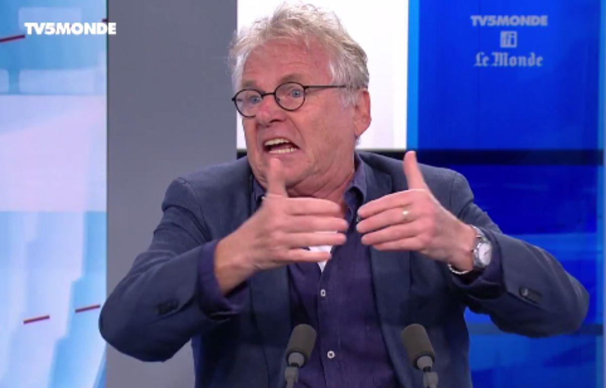 Daniel Cohn-Bendit sur TV5 Monde le 19 juin 2016. – TV5 MONDE