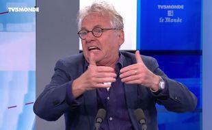 Daniel Cohn-Bendit sur TV5 Monde le 19 juin 2016.