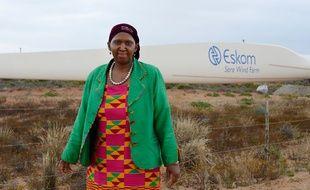 Ayanda Nakedi, responsable des énergies renouvelables chez l'opérateur national d'électricité sud-africain Eskom.