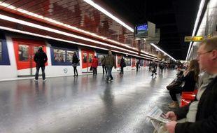 La station Auber.