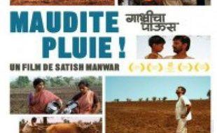 """Affiche du film """"Maudite pluie"""", sorti le 1er juin 2011 en salle."""