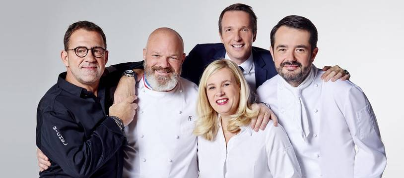 Michel Sarran, Philippe Etchebest, Helene Darroze, Stephane Rotenberg, Jean Francois Piège dans «Top Chef» 2019