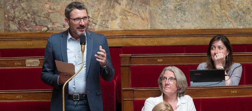 Matthieu Orphelin, coprésident du groupe EDS à l'Assemblée nationale, le 26 mai 2020.