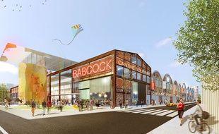 Le projet de La Fabrique des Cultures, sur le site des anciennes usines Bacock à La Courneuve, prévoit différents espaces culturels.