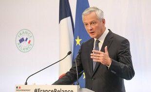 Bruno Le Maire a détaillé le plan de relance du gouvernement le 3 septembre 2020.