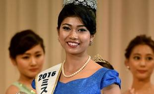 Priyanka Yoshikawa, nouvelle miss Japon, le 5 septembre 2016.