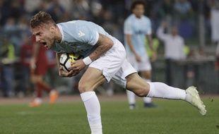 L'attaquant de la Lazio Ciro Immobile.
