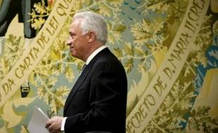 Le gouverneur de la Banque du Portugal, Carlos Costa, le 3 août 2014 à Lisbonne