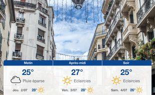 Météo Toulon: Prévisions du mercredi 1 juillet 2020