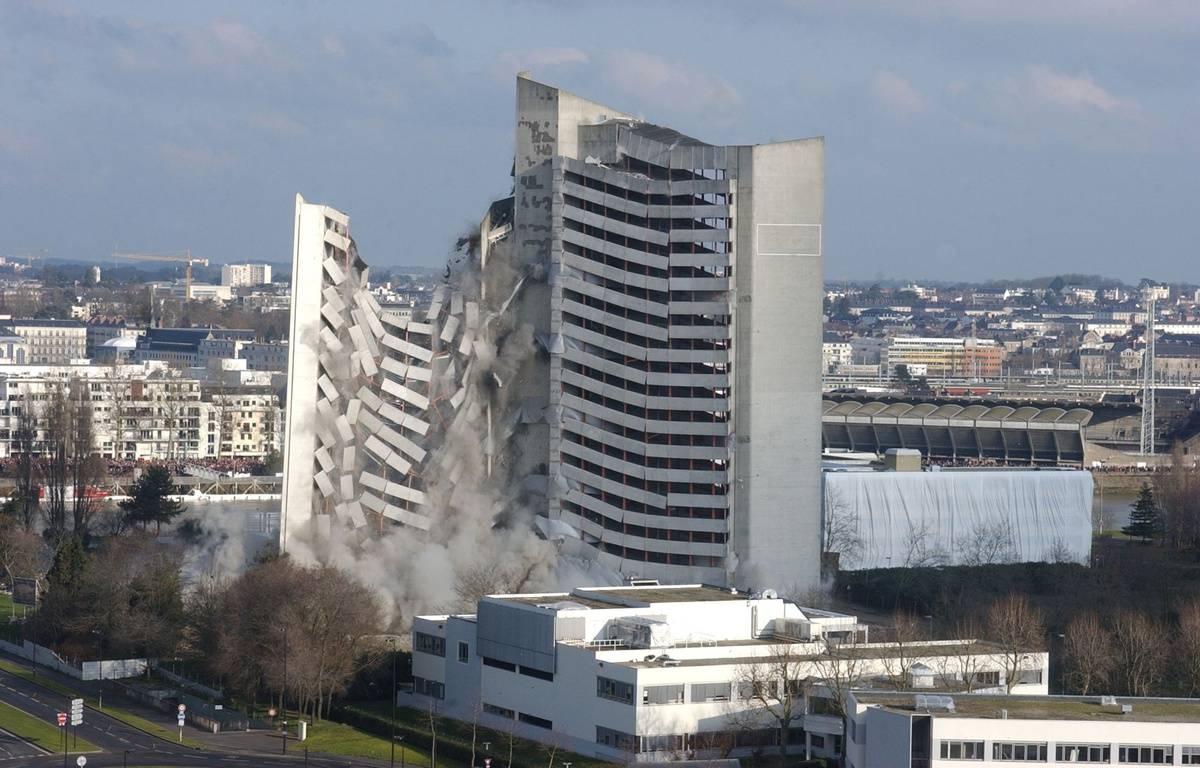 Le Tripode a été démoli en 2005 – F. Perry/ AFP