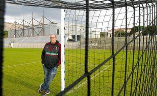 """""""Donnez-moi un Tapie et on monte direct en Ligue 2 """", lance Jean-Luc Mingallon, président du GS Consolat."""