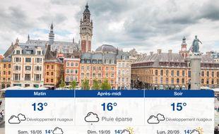Météo Lille: Prévisions du vendredi 17 mai 2019