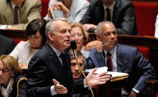 Le Premier ministre Jean-Marc Ayrault à l'Assemblée nationale.