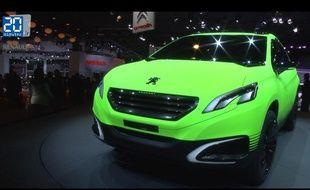 Peugot 2008 concept au mondioal de l'automobile 2012