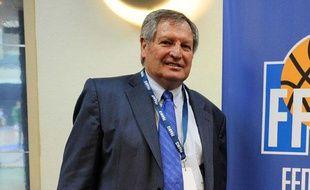 Le nouveau président de la FIBA, Yvan Mainini, le 30 juillet 2009