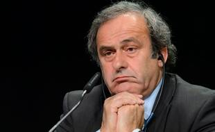Michel Platini le 28 mai 2015.