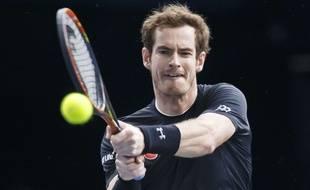Andy Murray contre David Ferrer le 7 novembre 2015.