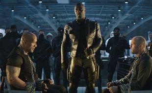 Dwayne Johnson, Idris Elba et Jason Statham dans «Hobbs & Shaw» de David Leitch