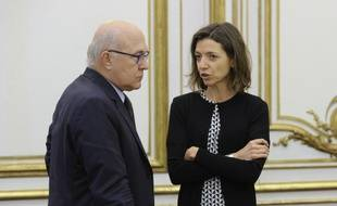 Laurence Boone, ici avec Michel Sapin. (archives)