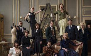 Les personnages de la série «The Collection».