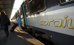 Trains Intercités (illustration).