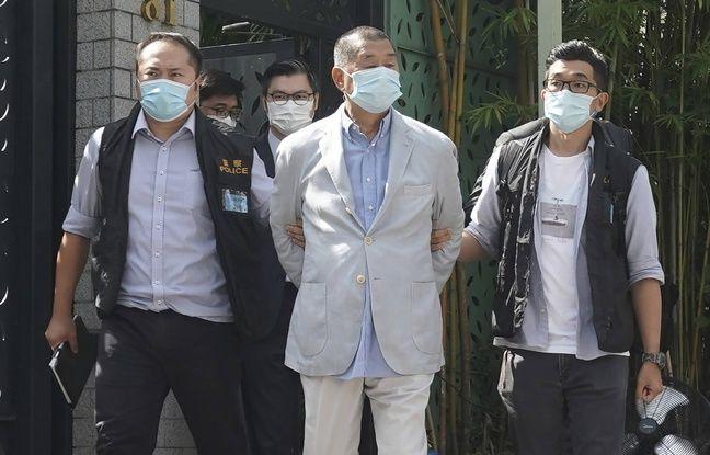 648x415 jimmy lai patron de presse et figure de la contestation contre pekin lors de son arrestation a hong