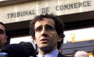 L'ancien pilote de champion du monde de F1, Alain Prost, le 28 janvier 2002 à Versailles.