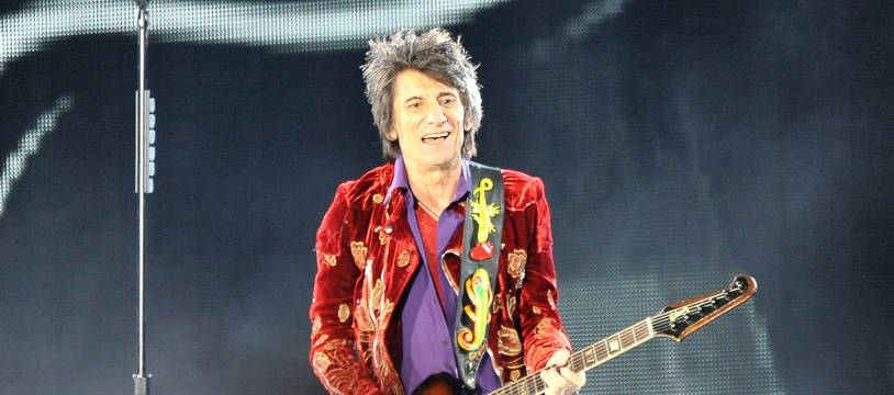 Le guitariste des Rolling Stones Ronnie Wood