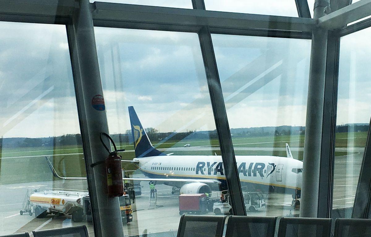 Illustration d'un avion de Ryanair – Olivier Aballain / 20 Minutes