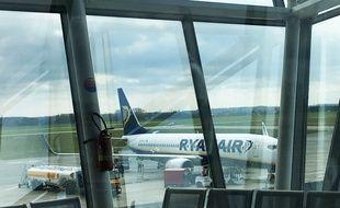 Illustration d'un avion de Ryanair