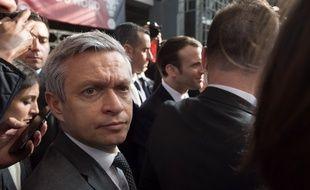 Le général Lionel Lavergne, ici avec Emmanuel Macron en février 2019, a quitté ce samedi la sécurité de l'Elysée.