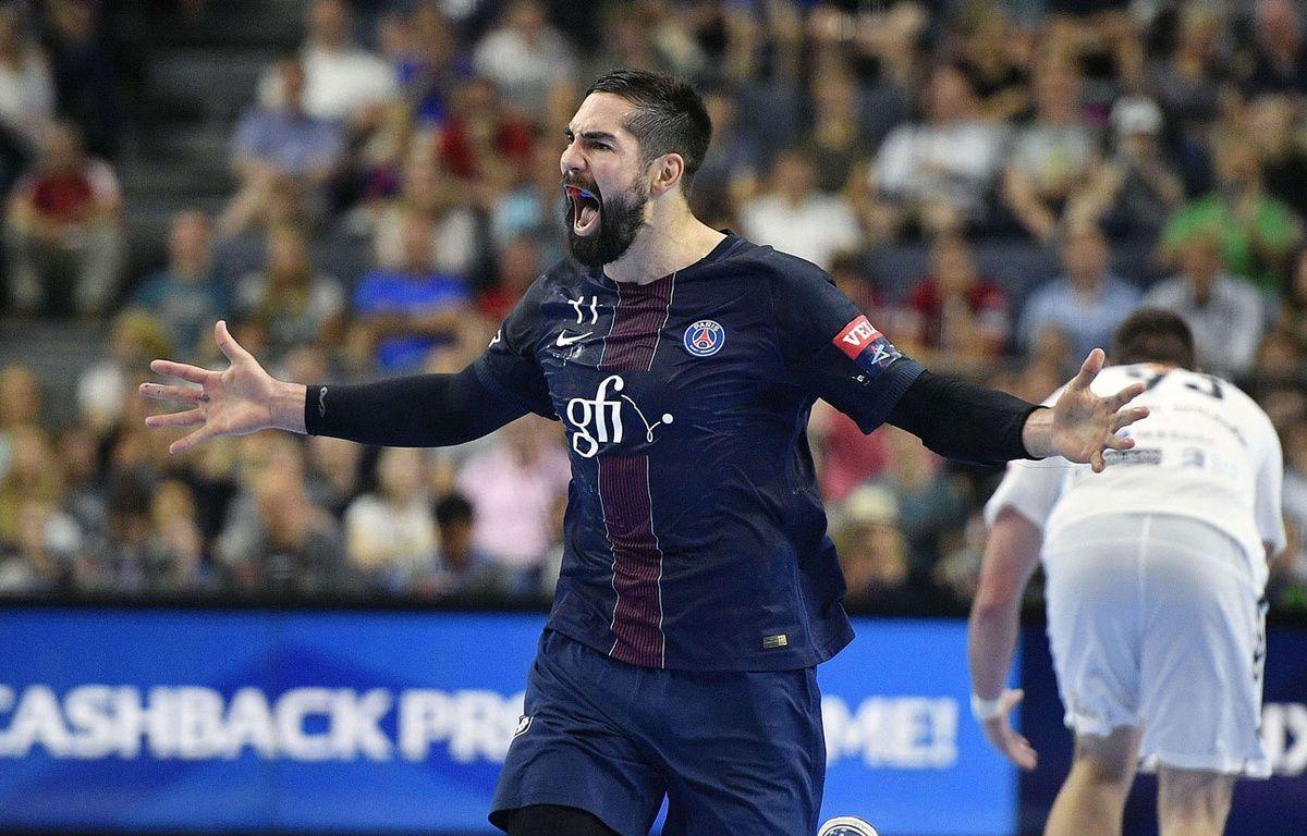 Niko Karabatic en finale de la Ligue des champions – SIPA
