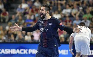 Niko Karabatic en finale de la Ligue des champions