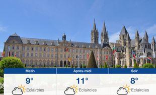 Météo Caen: Prévisions du mercredi 27 mars 2019
