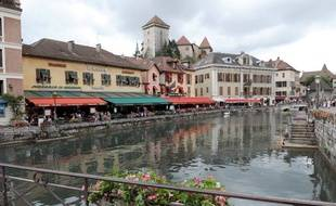 La ville d'Annecy, illustration