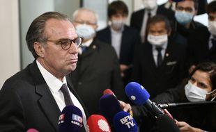 Le président LR Renaud Muselier le 4 mai 2021