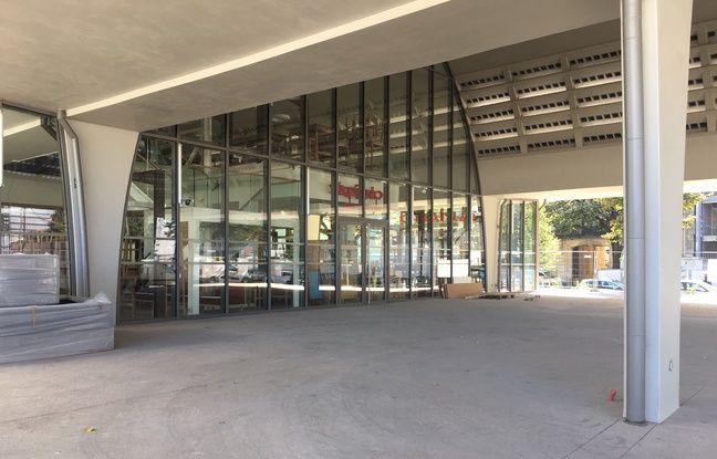 La Halle Boca à Bordeaux, qui doit ouvrir partiellement à partir du mois de novembre