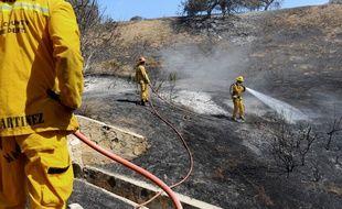 Quelques 5.000 personnes ont du être évacuées entre samedi et dimanche à cause d'incendies tout près de Los Angeles, dans la chic ville de Calabasas